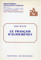 le francais d'aujourd'hui